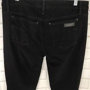 Joe's Womens Black Jeans Ankle Chelsea Fit